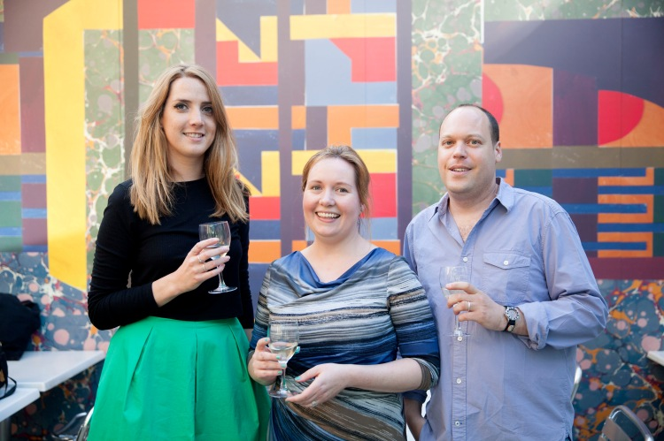 The Jerwood Fiction Uncovered Prize 2015 took place in central London on 18 June at the Jerwood space. The award celebrates the best fiction writers of the year Winning author Lavie Tidhar on far left