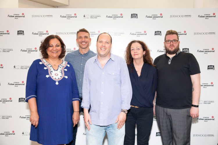 The Jerwood Fiction Uncovered Prize 2015 took place in central London on 18 June at the Jerwood space. The award celebrates the best fiction writers of the year Winner Lavie Tidhar, author of A Man Lies Dreaming