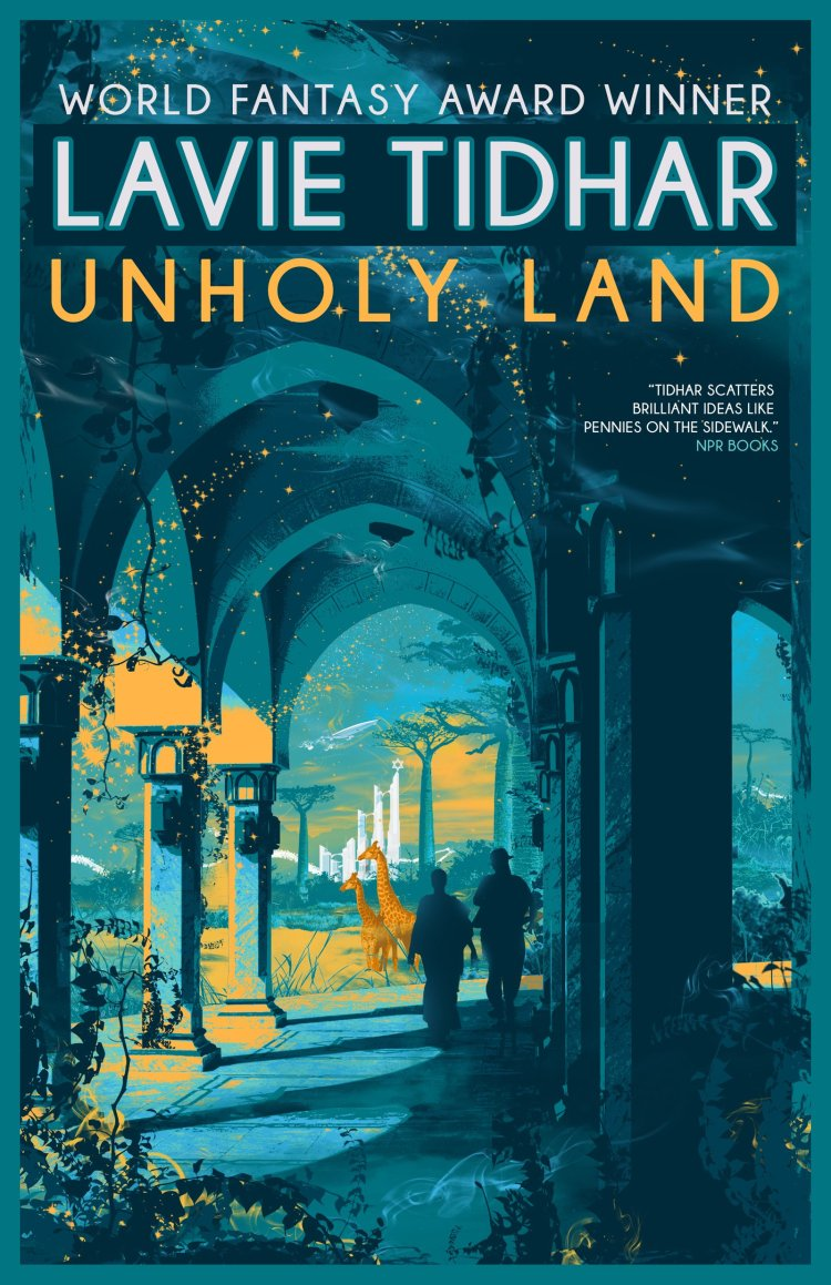 unholy land cover