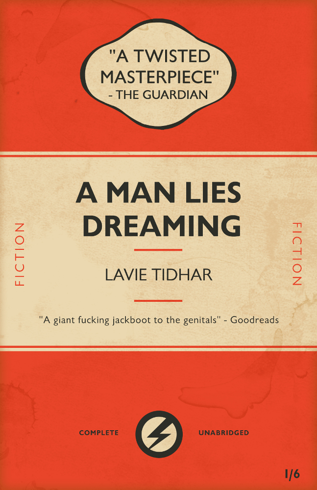 A Man Lies Dreaming Cover Web